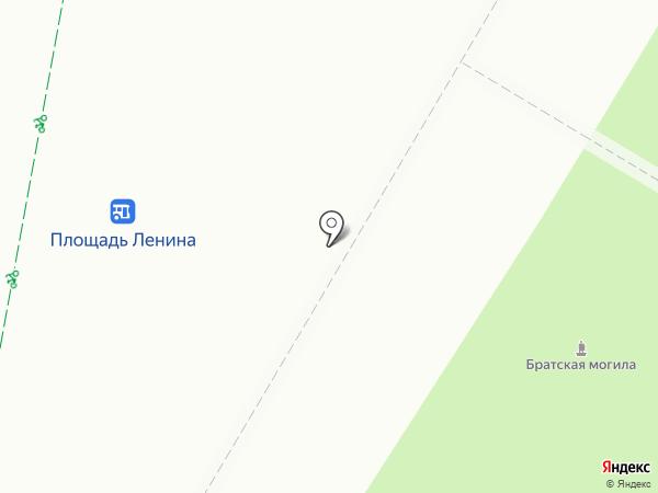 Киоск по продаже цветов на карте Волгограда