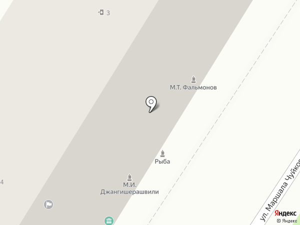 Квартирное бюро на карте Волгограда
