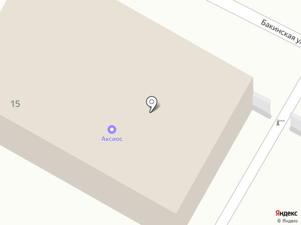 Аксиос-Джет на карте Волгограда