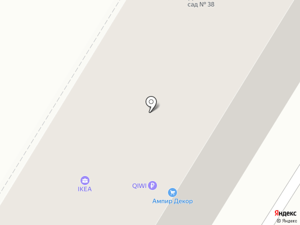 IKEA на карте Волгограда