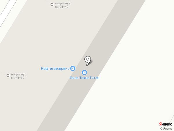 Тонер-Сервис на карте Волгограда