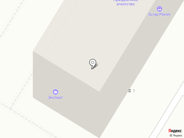 А-Реал на карте Волгограда