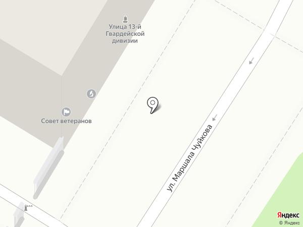 Центр по изучению Сталинградской битвы на карте Волгограда