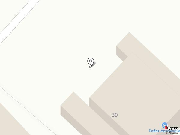 Автосервис на ул. Алёхина на карте Волгограда
