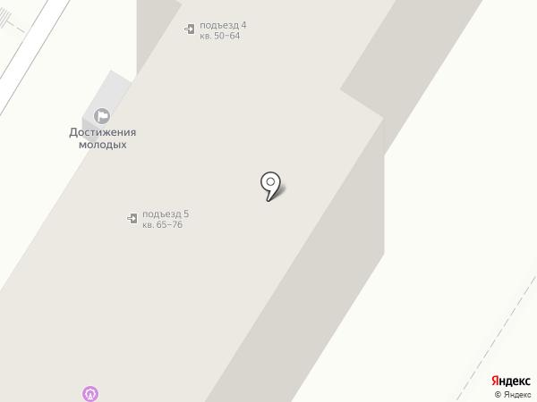 Дар на карте Волгограда