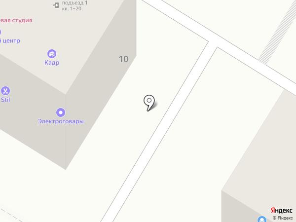 Дилакс на карте Волгограда
