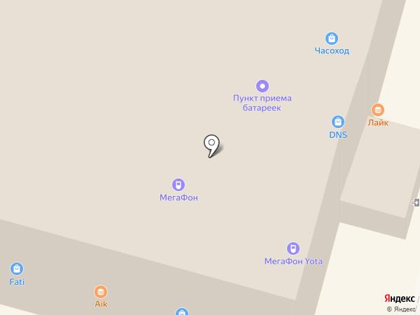 МебельДАР на карте Волгограда