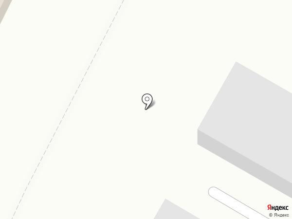 Гараж на карте Волгограда