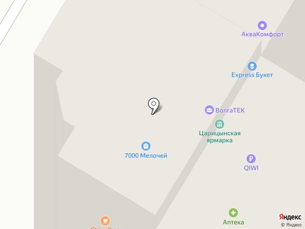 Split34 на карте Волгограда