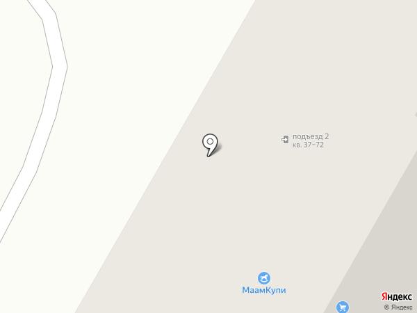 Карапуз на карте Волгограда