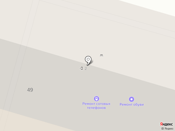 Современная гуманитарная академия на карте Волгограда