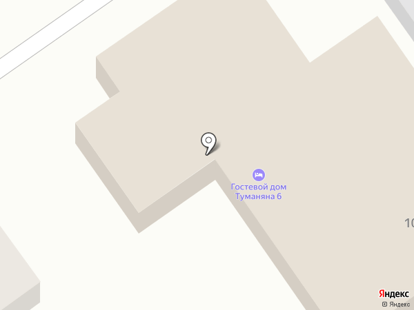 Business-Hotel на карте Волгограда