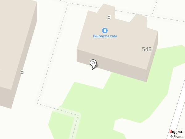 Вырасти сам на карте Волгограда
