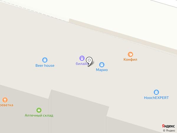 Анекс Тур на карте Волгограда
