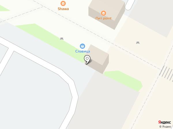 Бон Аппетит на карте Волгограда