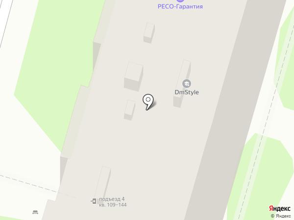 Люанта на карте Волгограда