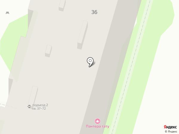 Торгово-сервисная компания на карте Волгограда