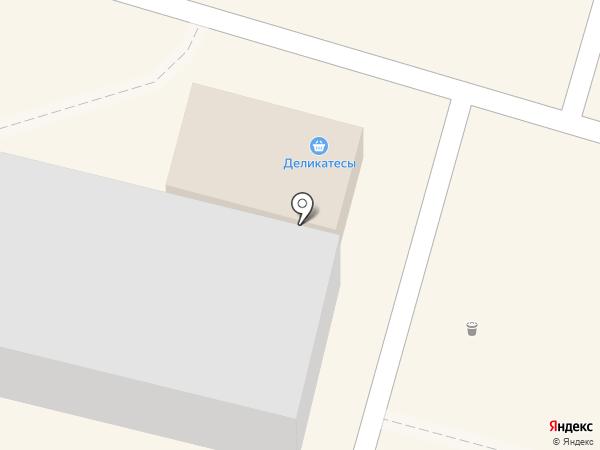 Магазин полуфабрикатов на карте Волгограда