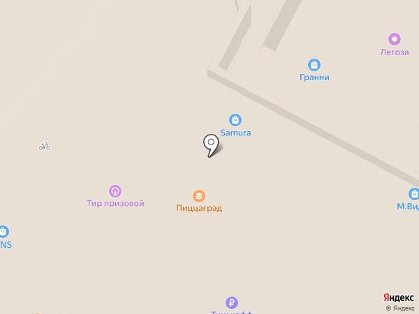 Blange на карте Волгограда