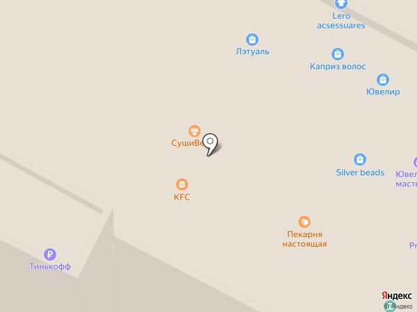 Сласти на карте Волгограда