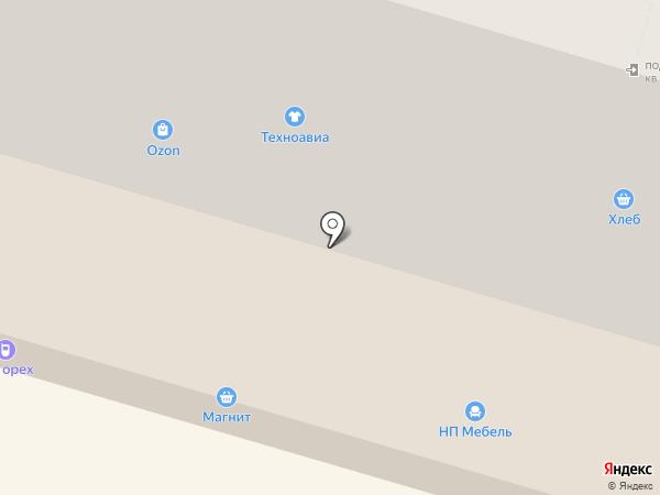 Магазин тканей и швейной фурнитуры на карте Волгограда