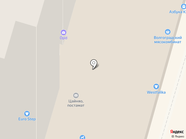 Лето Банк на карте Волгограда