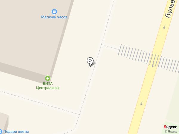 Шаурма №1 на карте Волгограда