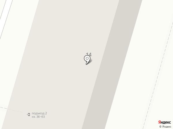 Детская поликлиника №26 на карте Волгограда