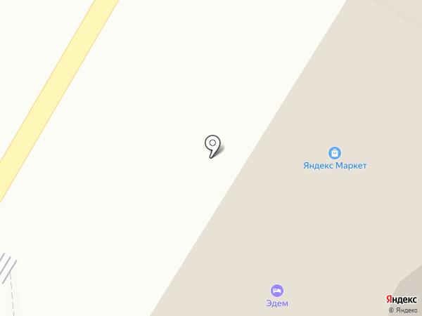Эдем на карте Волгограда