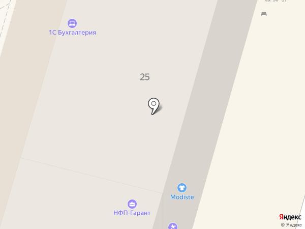 Моя бухгалтерия на карте Волгограда