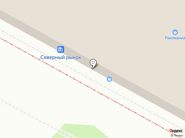 Магазин чая и табачной продукции на карте Волгограда
