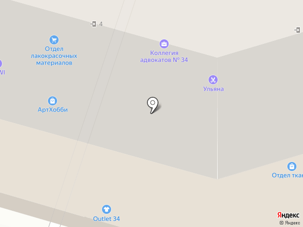 Caprise на карте Волгограда