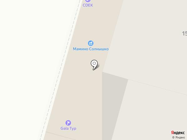 Санрей на карте Волгограда