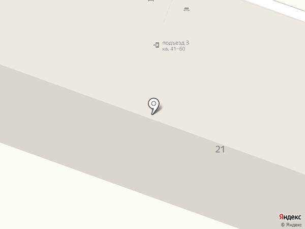 Стульная лавка на карте Волгограда