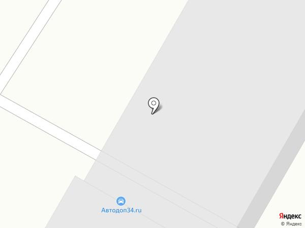 Ankor на карте Волгограда