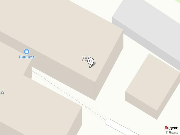 Тандыр-Хлеб на карте Волгограда