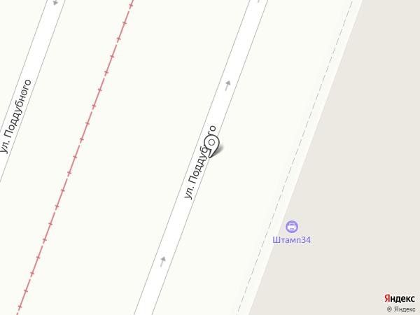ЯРКО5 на карте Волгограда