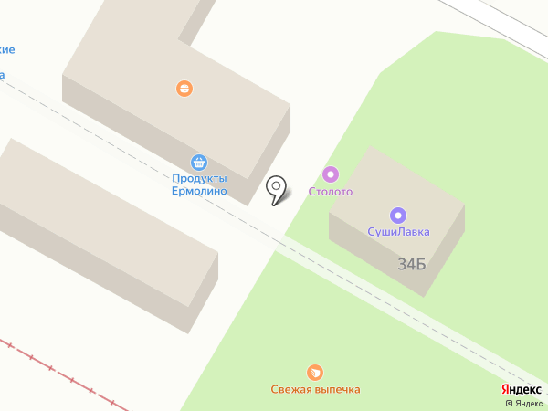 Магазин разливного пива на карте Волгограда