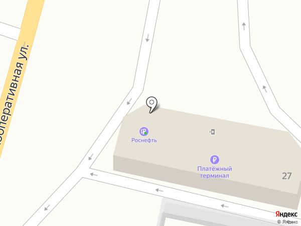АЗС Роснефть на карте Волгограда