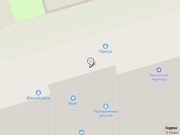 Фрешкинс на карте Волгограда