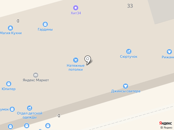 Престиж на карте Волгограда