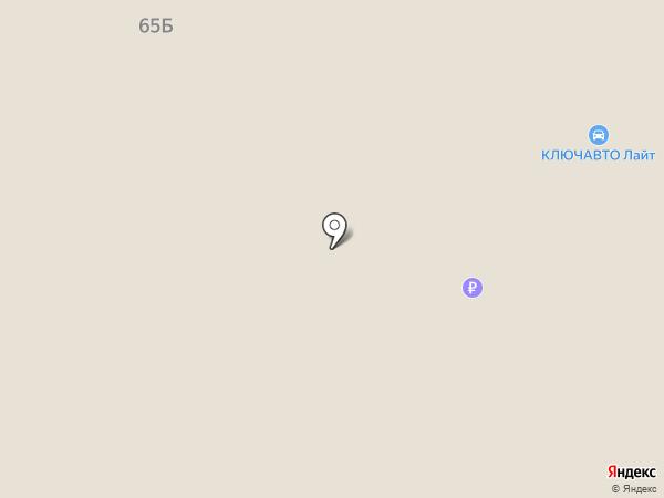 Автоцентр на карте Волгограда