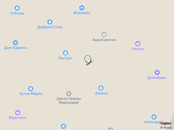 Строительная справочная служба на карте Волгограда