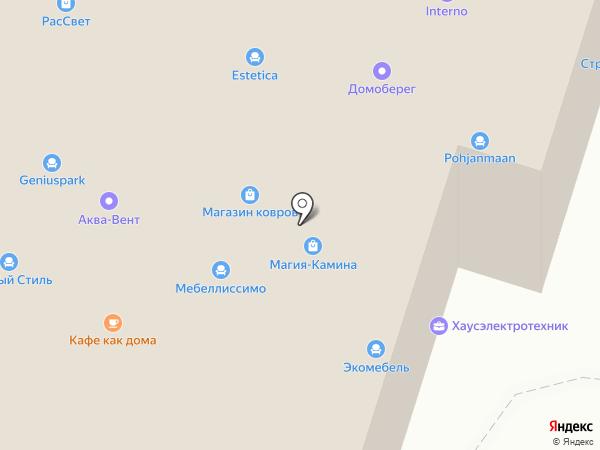 Гармония-Мебель на карте Волгограда