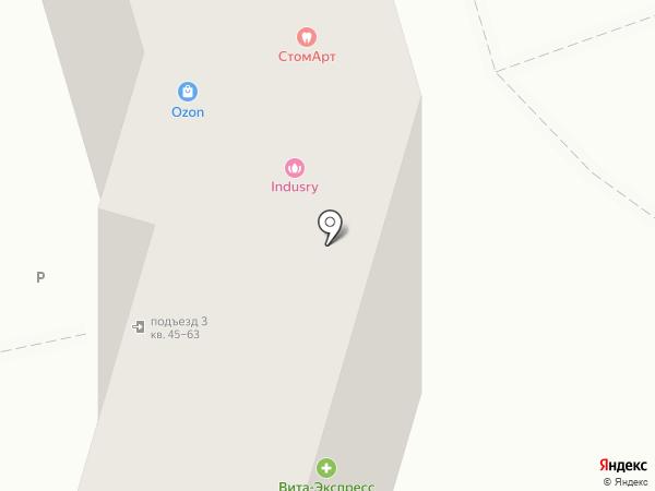 Пивной домик на карте Волгограда