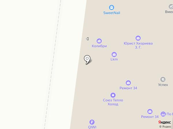 ИТЛ №1 на карте Волгограда