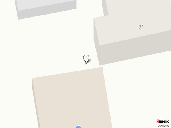 Хороший на карте Краснослободска
