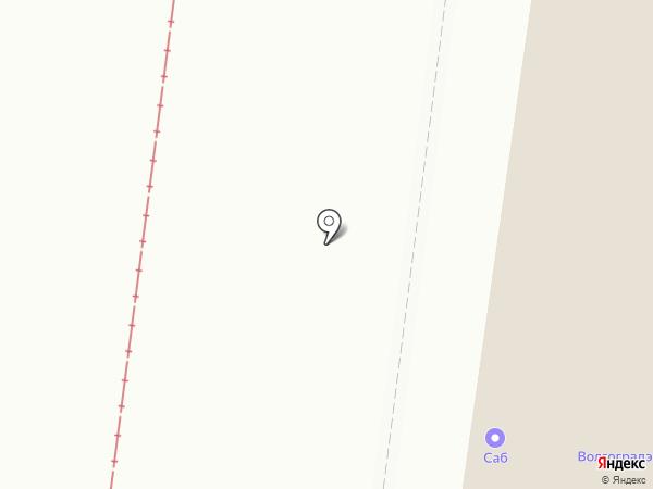Карьера на карте Волгограда
