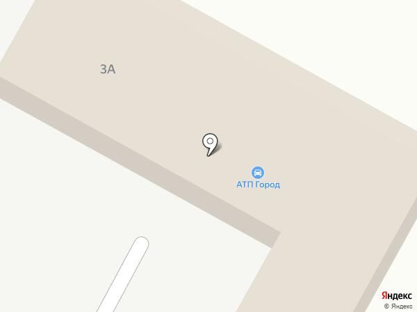 Юниор на карте Волгограда