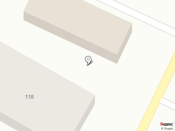 Эдем на карте Краснослободска